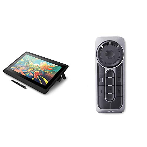 Wacom Dtk1660K0A Cintiq 16 Drawing Tablet With Screen & Express Key Remote For Cintiq & Intuos Pro (Ack411050)