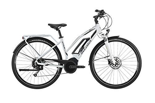 NUOVO MODELLO 2020 Bicicletta elettrica Atala B-TOUR LADY 9 velocità, misura S (148-160 cm), bianco/antracite, batteria 400wh