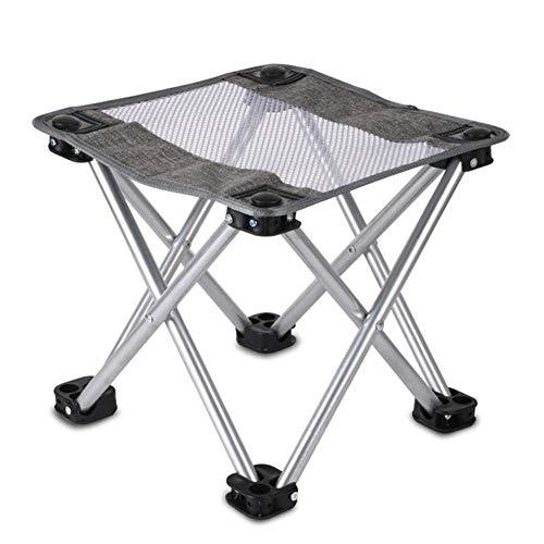 No Brand FYTVHVB campingstoel, inklapbaar, voor vissen, buiten, draagbaar, klimmen, wandelstoel, minigrill, strandstoel