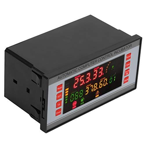 Controlador de temperatura de la incubadora de huevos, sistema de control de la incubadora, pantalla LCD de pantalla grande Controlador de temperatura y humedad para la incubadora Accesorio