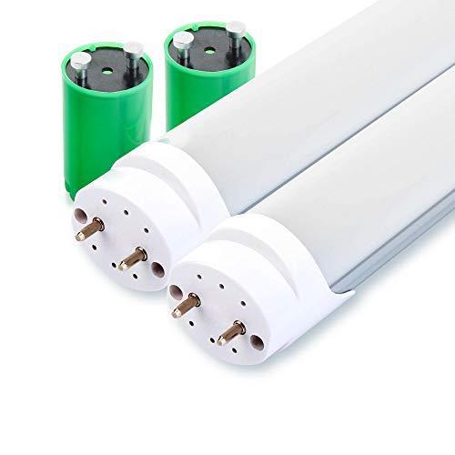 2er Set Showlite LED Röhre 60cm (600mm Leuchtstoffröhre, T8 G13, 900 Lumen, 4500 Kelvin, Tageslichtweiß, Leistung: 10W)
