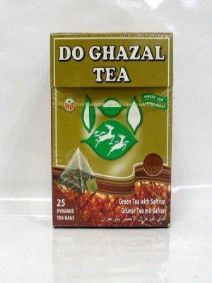Do Ghazal Tee- als Loser Tee und Beutel-Tee, in Schwarztee, Grünertee und Kräutertee (Safran, 25 Beutel)