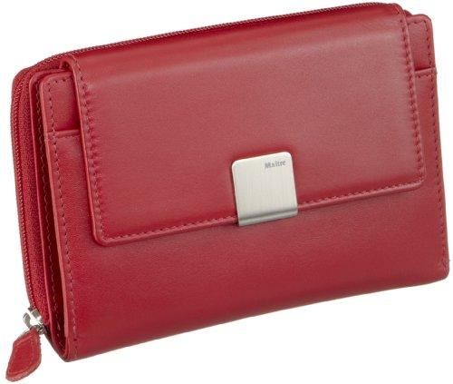 Maitre Damen RV-Damenbörse Geldbörsen, Rot (red 300), 14x10x1 cm