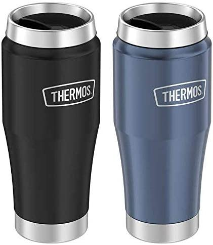 Thermos Stainless Inexpensive Steel Thermal specialty shop Blue Mug 2-pack