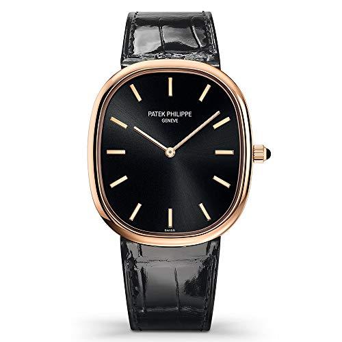 PATEK PHILIPPE 5738R-001 Golden Ellipse Automatic Black Dial Watch