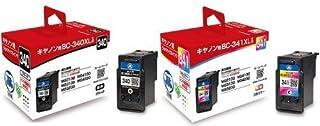 日本製 キャノン Canon BC-340+BC-341 XL 大容量 リサイクルインク 2色セット BC340XL BC341XL CANON PIXUS MG2130 PIXUS MG3130 PIXUS MG3230 PIXUS MG41...