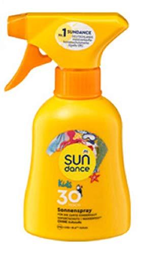 Sundance Sonnenspray Kids LSF 30 Hoch, 200ml wasserfest & vegan/ohne Duftstoffe
