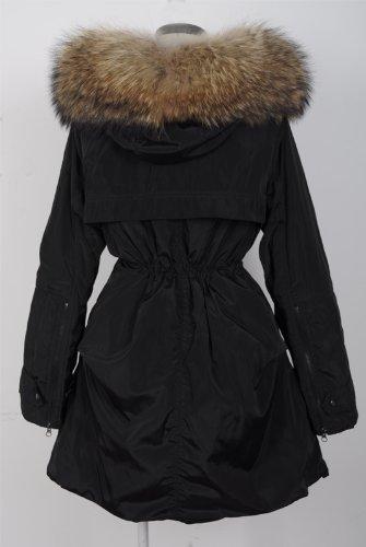 『ファッションコート 大きいアライグマの毛皮の襟』の6枚目の画像