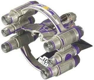 Star Wars 2010 Titanium DieCast Mini Vehicle Mace Windus Jedi Starfighter