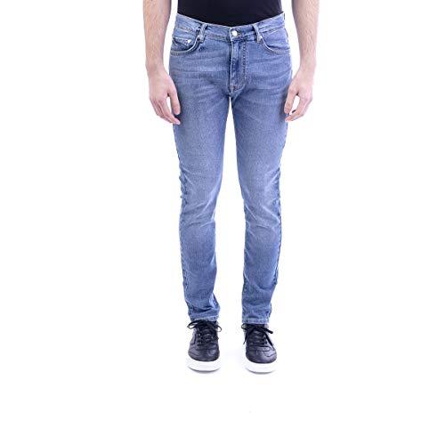 Luxury Fashion | Iceberg Heren 220460066001 Blauw Katoen Jeans | Lente-zomer 20