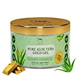 TNW-THE NATURAL WASH Pure Aloe Vera Gold Gel with 24 Carat Gold Leaves