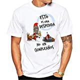 MardeTé Camiseta Esto es una Despedida no un cumpleaños. Camiseta para Despedida de Solteros. Ideal para Grupos de Amigos en la Fiesta. (XL)