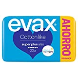 Evax Cottonlike Super Plus Compresas Con Alas 20u