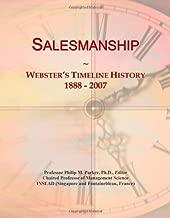 Salesmanship: Webster's Timeline History, 1888 - 2007