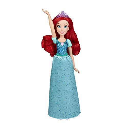 Disney Princess Princess Brillo Real Ariel (Hasbro E4156ES2) , Color/Modelo Surtido
