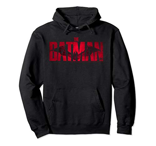 DC Fandome The Batman Red Logo Pullover Hoodie