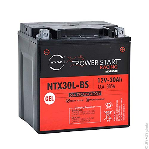 NX - Batería Moto Gel FHD30HL-BS / YIX30L-BS / NIX30L-BS 12V 30Ah