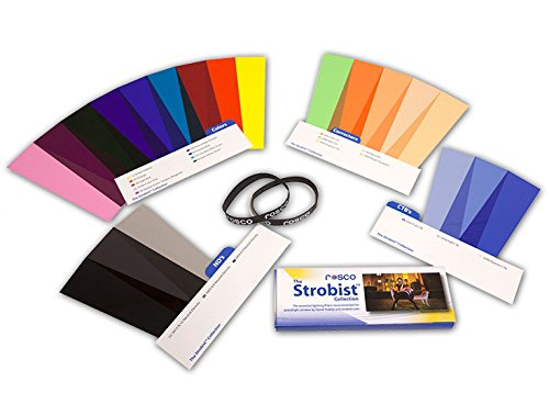 Rosco Strobist Collection für Blitzgeräte Korrekturfilter, Effektfilter