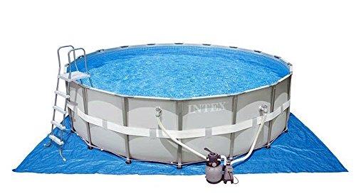 Frame Pool Set Ultra-Rondo II inkl. Sandfilteranlage (Ø 549 x 132 cm, weiß)