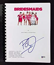 Paul Feig Autographed Signed Bridesmaids Movie Script Autographed Signed Bas #F84621 - Certified Signature