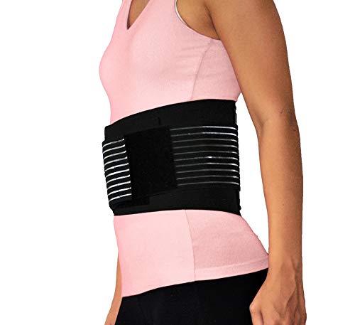 Herolio Rückenbandage – entlastet den Rücken, lindert Schmerzen - Größe M