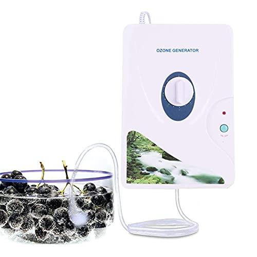 Generador De Ozono, 600 MG/H Máquina Generadora De Ozono Purificador De Aire Purificador De Vegetales De Carne para La Cocina para El Hogar Baño De Baño Limpio