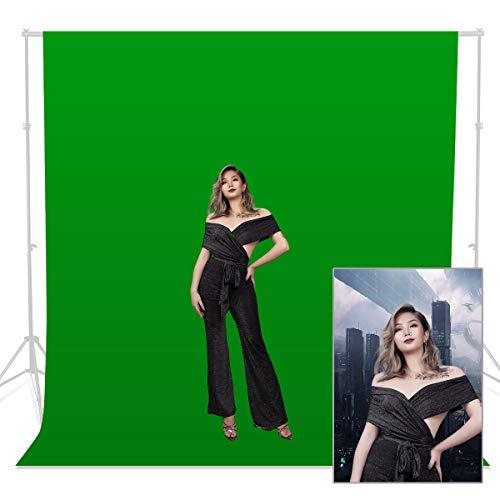 100% Cotone 3 x 3M verde Photo Studio Video mussola Fotografia Sfondo Sfondo