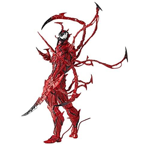Venom Action Figure, Legends Carnage, Personaggi Anime, Modello Statua Anime, PVC Bambola Ornamento per camera da letto, comodino, soggiorno, giocattolo da collezione Venom regalo per bambini