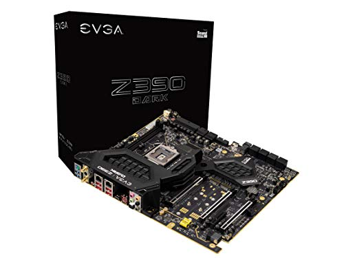 EVGA Z390 Dark, LGA 1151, Intel Z390, SATA 6GB/s, USB 3.1, M.2, U.2, EATX, Intel Motherboard...