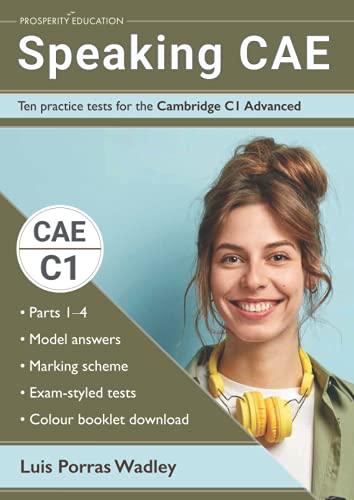 Speaking CAE: Ten practice tests for the Cambridge C1 Advanced