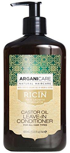 Arganicare Soin Evolution sans rinçage à l'huile de Ricin. 400ml