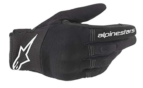 Alpinestars Motorradhandschuhe Copper Gloves Black White, BLACK/WHITE, XL
