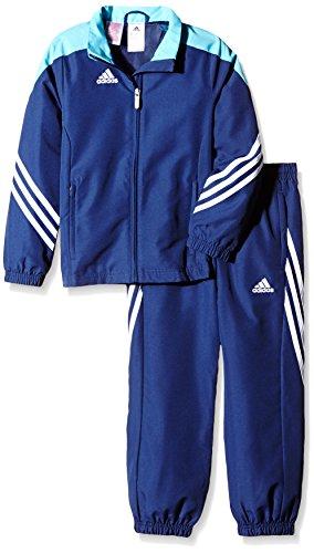 adidas Sere14 Pre Su Y Sudadera, niño, Azul-Azul Marino/Blanco, 164