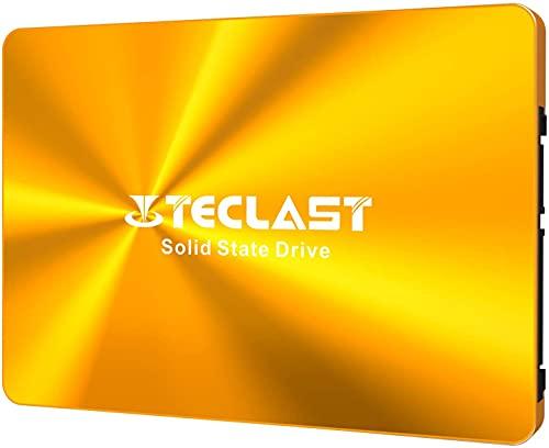 TECLAST SSD 内蔵 256GB 2.5インチ 金属筐体 アルミ合金製 3D NAND採用 SATA3 6Gb/s 7mm PS4動作確認済 日本語取扱説明書付き 3年保証 国内正規代理店品