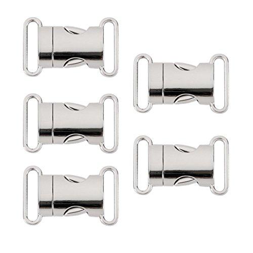 OULII Klickverschluss Steckschließer für Ärmbänder Rucksack
