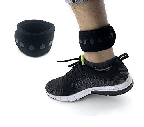 Carreor Breiter Schnallenverschlussband mit Netztasche für FitBit ONE/Charge 2/Zip FitBit Flex 2/FitBit Alta HR mit 2 Größen (Tracker nicht im Lieferumfang enthalten)