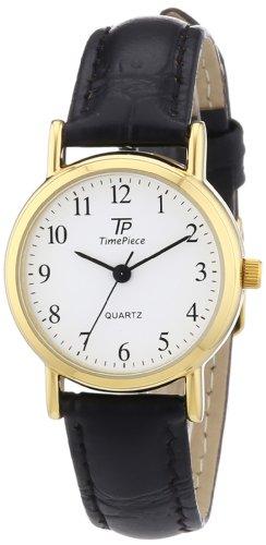 TP Time Piece TPLA-32331-12L - Orologio da polso donna, pelle, colore: nero