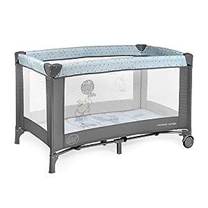 Innovaciones MS – Cuna de viaje 120 x 60 cm, bebe, incluido colchóncito y bolsa de transporte, de 0+ meses hasta 15 kg…