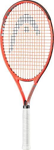 HEAD Radical Jr Tennis Racquet Beginners Pre Strung Head Light Balance Kids Racket 26 Inch Red product image