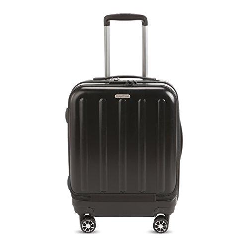 HyBrid & Company Luggage Durable Lightweight Hard Case Spinner Suitcase LUG1-RA8811, 20 inch, Black