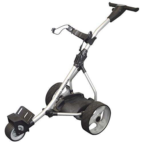 Pro Rider Golf Trolley Silver Electric, 110cm x 99cm x 57cm