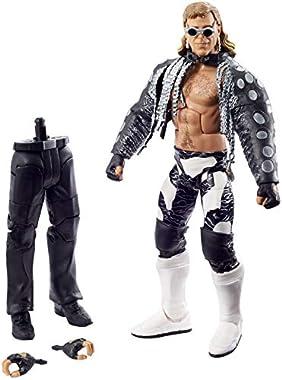 Die WWE Shawn Michaels WrestleMania Elite Actionfigur ist ca. 15cm groß und maßstabsgetreu. Mit besonders detailgetreuer TrueFX-Technollogie für lebensechte Authentizität. Dank 25 Bewegungspunkten kann die Figur charakteristische Posen und Finishing...