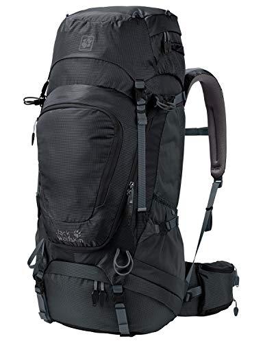 Jack Wolfskin Herren Highland Trail XT 50 Wandern Outdoor Trekking Rucksack, Phantom, 63x33x13 cm