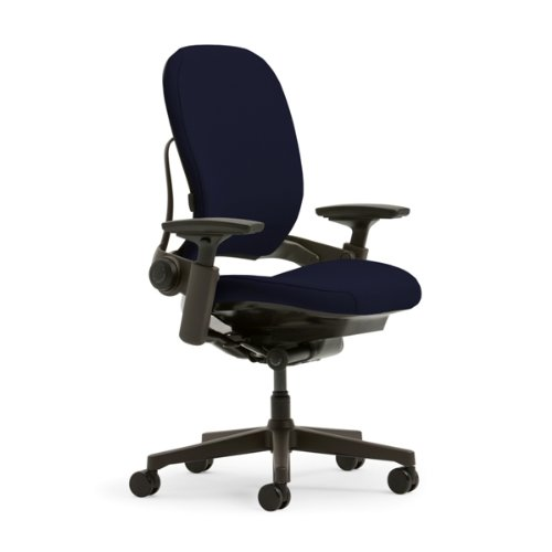 Steelcase Leap Plus Fabric Chair, Navy