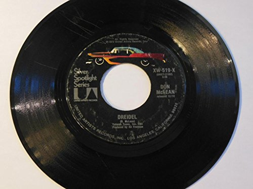 Dreidel / Vincent VINYL 7' 45 – United Artists Records – XW-519-X