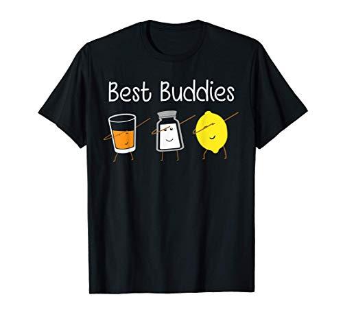 Tequila Shirt Beste Freunde dabbing Zitrone,Salz und Tequila T-Shirt