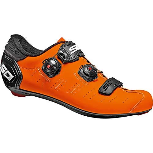 SIDI Zapatillas Ergo 5 Matt, Scape Ciclismo Hombre, Naranja Mate Negro, 40