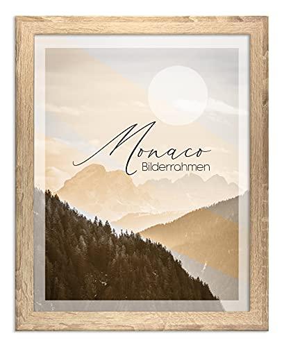 BIRAPA Bilderrahmen Monaco 30x42 cm in Sonoma Eiche - Farbe und Größe wählbar