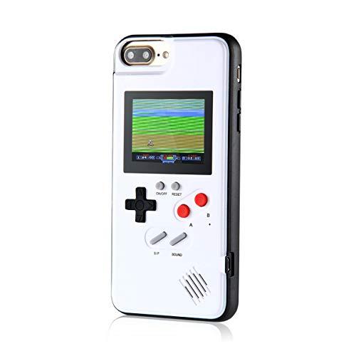 Game Custodia per iPhone, Retro Cover per iPhone 3D, 36 Giochi Piccoli, Display a Colori, Custodia Antiurto Protettiva Videogiochi per iPhone X/XS/MAX/XR, IPhone6/7/8, IPhone 8 Plus/7 Plus/6 Plus