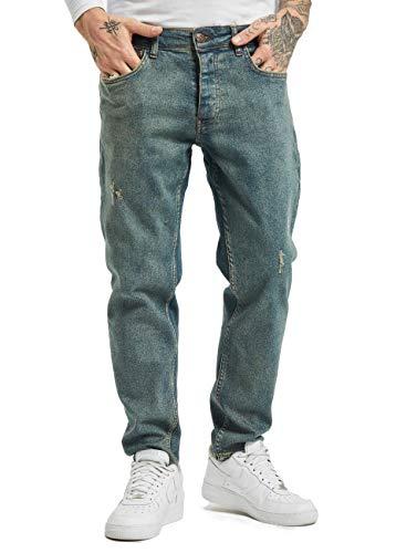 2Y Herren Slim Fit Jeans Avan blau W 31